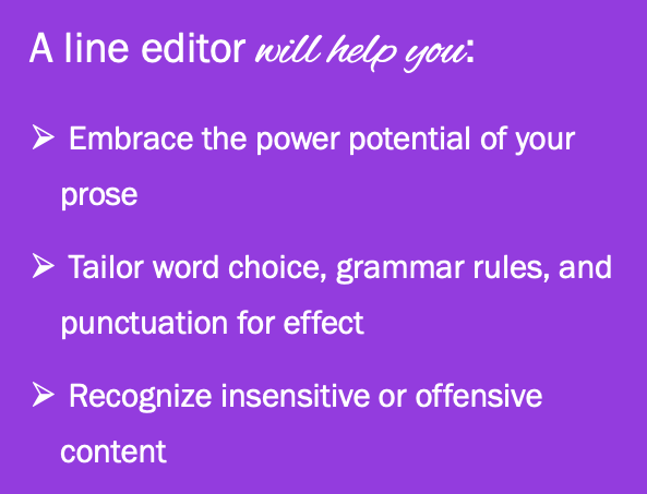What line editors do and how line editors help writers