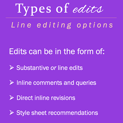 Different forms of line edits